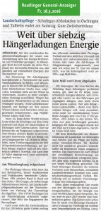 Reutlinger General-Anzeiger, 18.3.2016