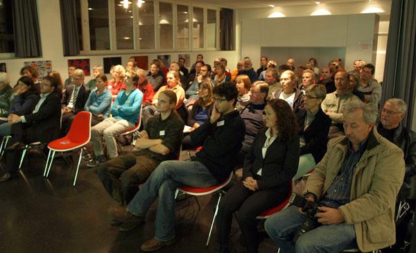 Hochkonzentriertes Publikum