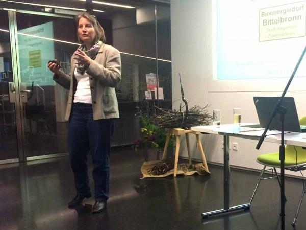 Dagmar Eisenbach, Aufsichtsrätin Bioenergie Bittelbronn eG