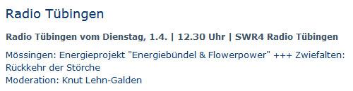 Programm SWR4, 1.4.2014